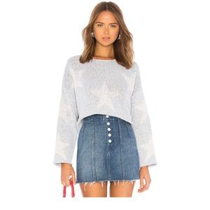 Wildfox | Star Crossed Cropped Sweater